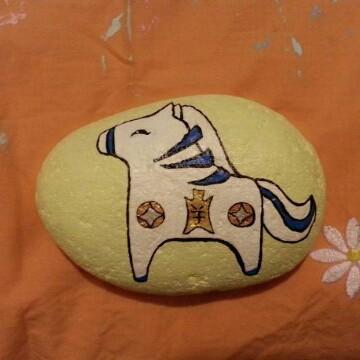 超有创意手绘——动物世界石头
