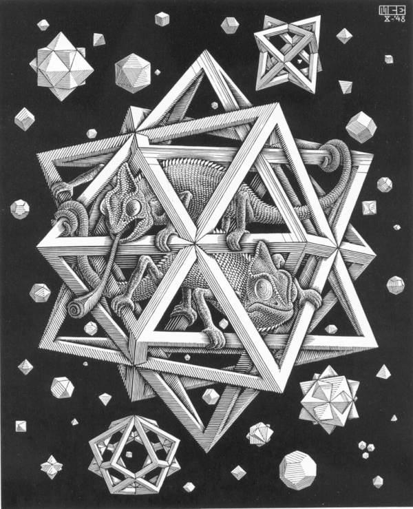 菱形星星矢量图
