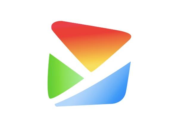 作扁平风格易班logo