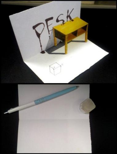 3d立体简单铅笔画教程_第8页_铅笔画