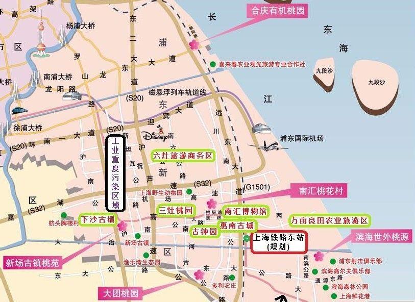 上海新场镇地图