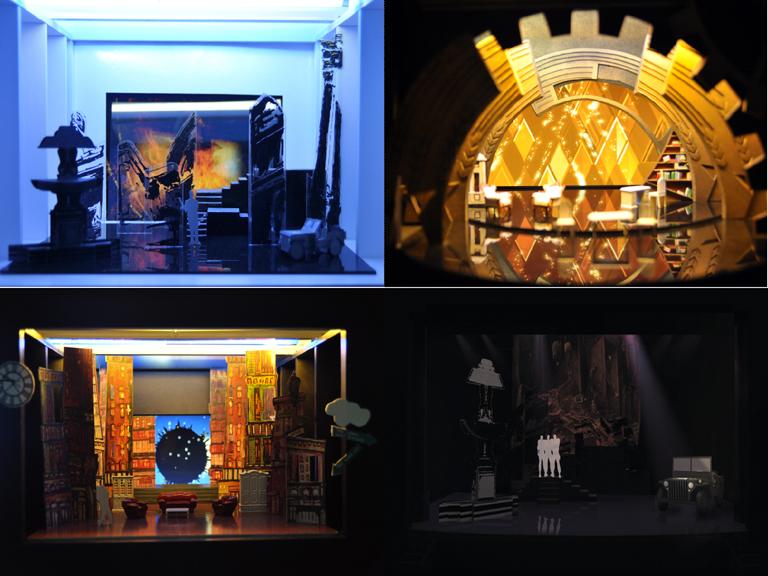 电影艺术职业学院影视舞台美术设计专业毕业设计展