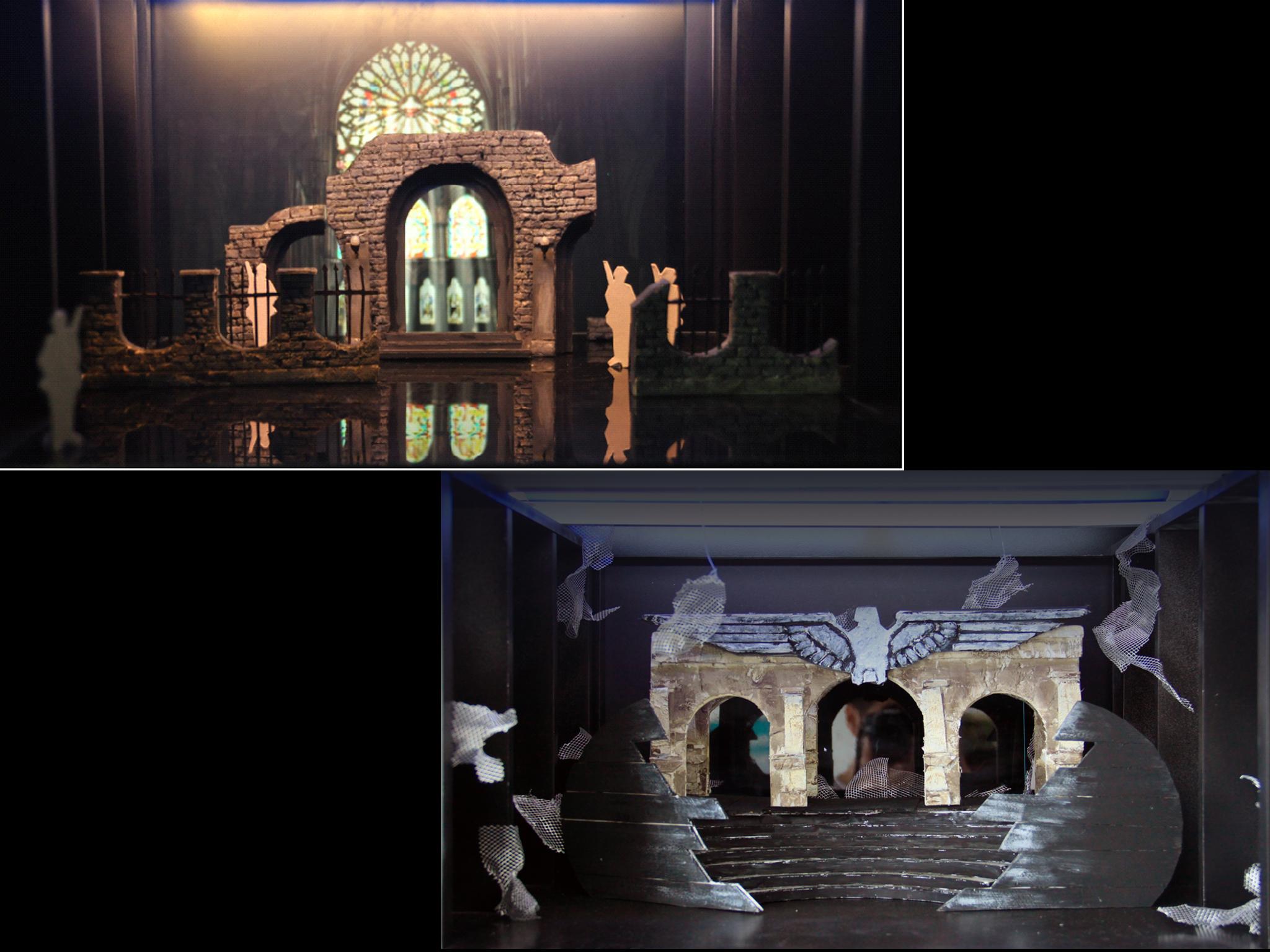 上海电影艺术职业学院影视舞台美术设计专业毕业设计展